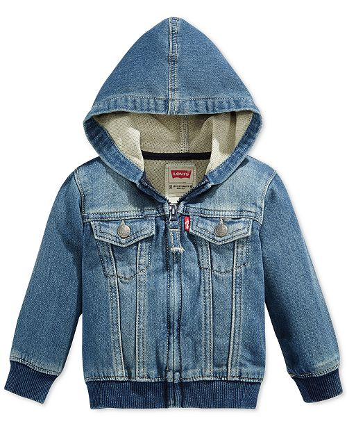 fb6d10396 Levi's Baby Boys Knit Hoodie & Reviews - Coats & Jackets - Kids - Macy's