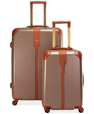 60 Off Hartmann Herringbone Luxe Hardside Luggage