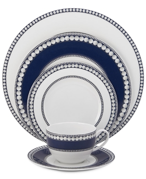 Mikasa Dinnerware Bone China 5-Pc. Akoya Cobalt Place Settin
