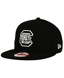 New Era South Carolina Gamecocks NCAA Black White Fashion 9FIFTY Snapback Cap