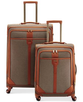 CLOSEOUT! Hartmann Classic Herringbone Luxe Luggage - Luggage ...