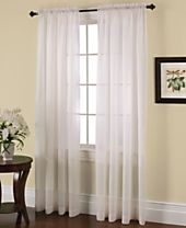 Miller Curtains Solunar Crushed Voile Insulating Sheer Curtain Panel Collection