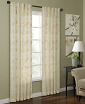 CLOSEOUT! Miller Curtains Camilla Woven Curtain Panel Collection