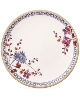 Artesano Provencal Lavender Collection Porcelain Floral Dinner Plate