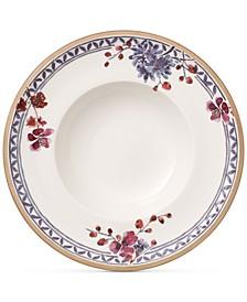 Artesano Provencal Lavender Collection Porcelain Rim Soup Bowl