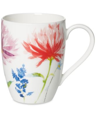 Amnut Flowers Collection Bone China Mug  sc 1 st  Macy\u0027s & Villeroy \u0026 Boch Amnut Flowers Dinnerware Collection - Fine China ...
