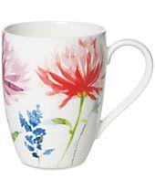 Villeroy & Boch Amnut Flowers Collection Bone China Mug