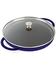 """Enameled Cast Iron 12"""" Steam Grill"""