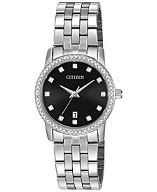 Citizen Women's Stainless Steel Bracelet Watch 27mm EU6030-56E