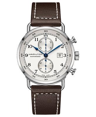 Hamilton Men's Swiss Automatic Chronograph Khaki Navy