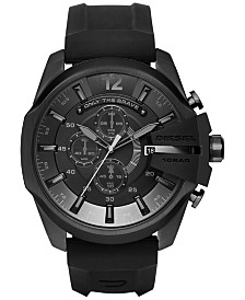 Diesel Men's Chronograph Mega Chief Silicone Strap Watches