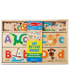 Kids' ABC Alphabet Picture Boards