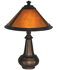 Dale Tiffany Hunter Mica Accent Table Lamp