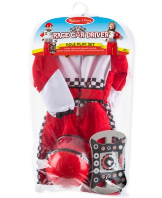 Kidsu0027 Race Car Driver Role Play Costume Set. 4 reviews. $29.99. main image ...  sc 1 st  Macyu0027s & Melissa and Doug Kidsu0027 Race Car Driver Role Play Costume Set - All ...