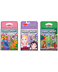 Melissa and Doug Kids' Water Wow Makeup & Manicures, Fairy Tale and Animals Gift Set