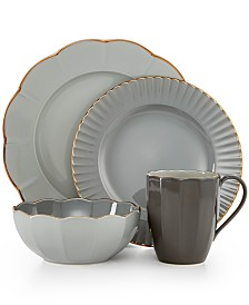 Marchesa by Lenox Dinnerware, Shades of Grey Collection