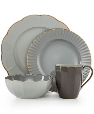 Marchesa by Lenox Dinnerware Shades of Grey Collection  sc 1 st  Macyu0027s & Marchesa by Lenox Dinnerware Shades of Grey Collection - Lenox ...
