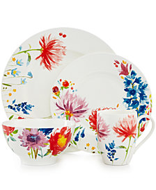 Villeroy & Boch Amnut Flowers Dinnerware Collection