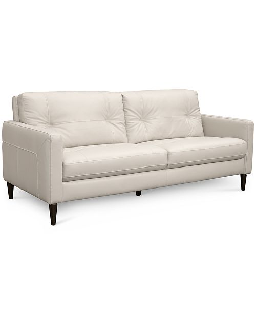 Macys Leather Sofa Furniture Closeout Renleigh 86 Leather