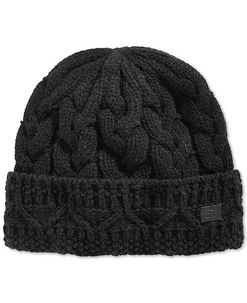 872b219df27 Sean John Men s Chunky Cable Knit Beanie
