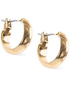 """Anne Klein Small 1/2"""" Hoop Earrings"""