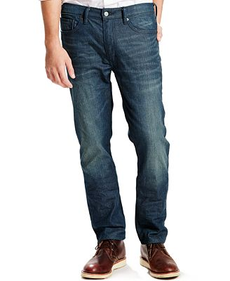 Levi's® 513™ Slim Straight Fit Jeans - Jeans - Men - Macy's
