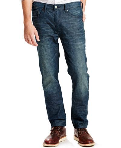 Levi's® 513™ Slim Straight Fit Jeans - Jeans - Men - Macy's