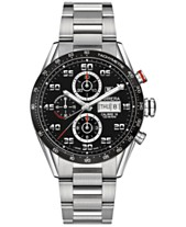 f64beb08b76 TAG Heuer Men s Swiss Automatic Chronograph Carrera Calibre 16 Stainless  Steel Bracelet Watch 43mm