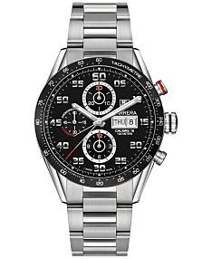 Tag Carrera Watch >> Tag Heuer Carrera Watches Macy S