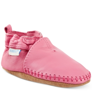 Robeez Baby Girls Classic Moccasin Shoes