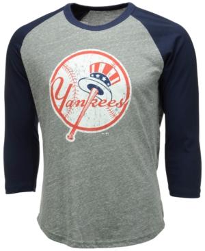 Men's New York Yankees Heather Raglan T-Shirt