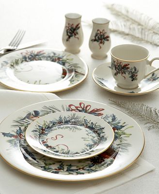Lenox Winter Greetings Dinnerware Collection Fine China