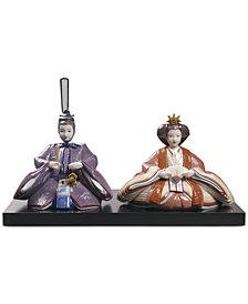 Lladró Porcelain Hina Dolls Figurine