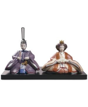 Lladro Porcelain Hina Dolls Figurine