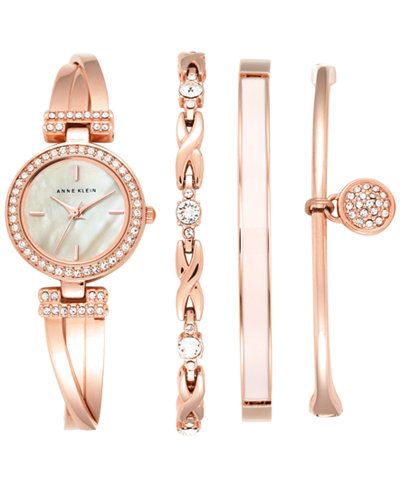 Women S Fashion Luxury Crystal Rose Gold Stainless Steel Watch
