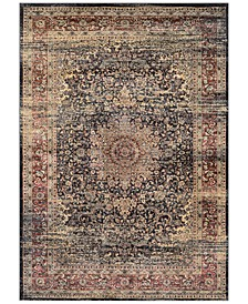 CLOSEOUT! HARAZ HAR439 Black Area Rugs