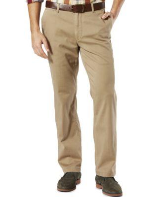 Straight Fit Khaki Pants hfQ9ZzZs
