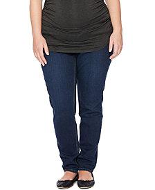 Jessica Simpson Maternity Skinny Jeans, Dark Wash