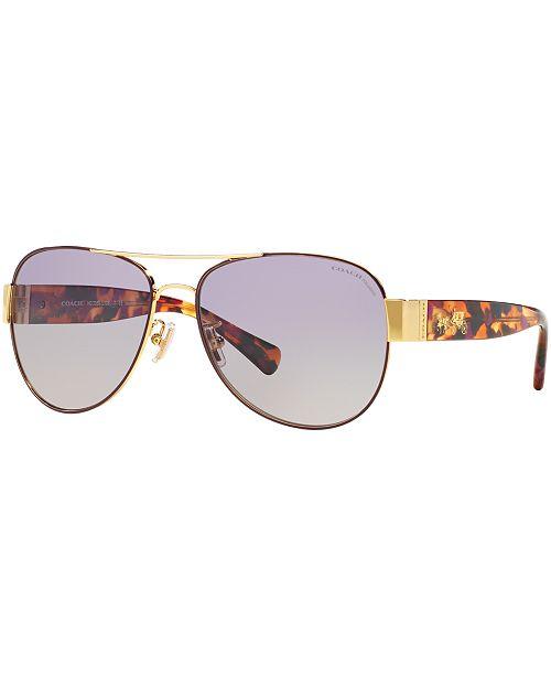 33a92af351725 ... COACH Polarized Polarized Sunglasses