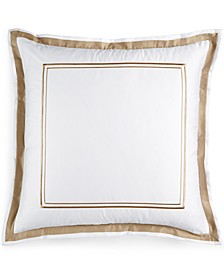 Pair of Embroidered Frame European Shams, Created for Macy's