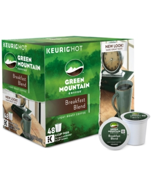 Keurig Green Mountain Coffee Breakfast Blend 48-Ct. K-Cup Value Pack