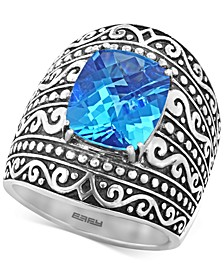 BALISSIMA  by EFFY® Blue Topaz (6-2/3 ct. t.w.) Ring in Sterling Silver