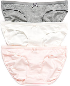 Motherhood Maternity Bikini 3-Pack Panties