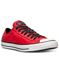 Converse Unisex Chuck Taylor Ox Quilted Casual Sneakers from Finish Line