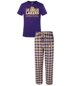 Men's Los Angeles Lakers Medalist Sleep Set