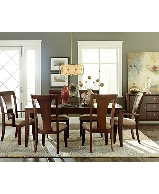 metropolitan dining room furniture, created for macy's - furniture