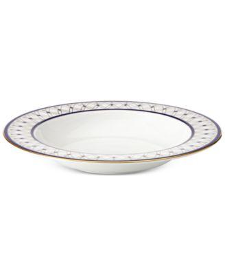 Royal Grandeur Bone China Rim Soup Bowl