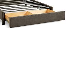 Upholstered Caprice Granite California King Storage Base