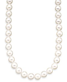 Belle de Mer A+ Akoya Cultured Pearl Strand Necklace (6-6-1/2mm)