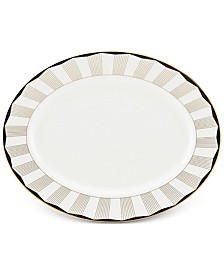 Brian Gluckstein by Lenox Audrey  Bone China Oval Platter
